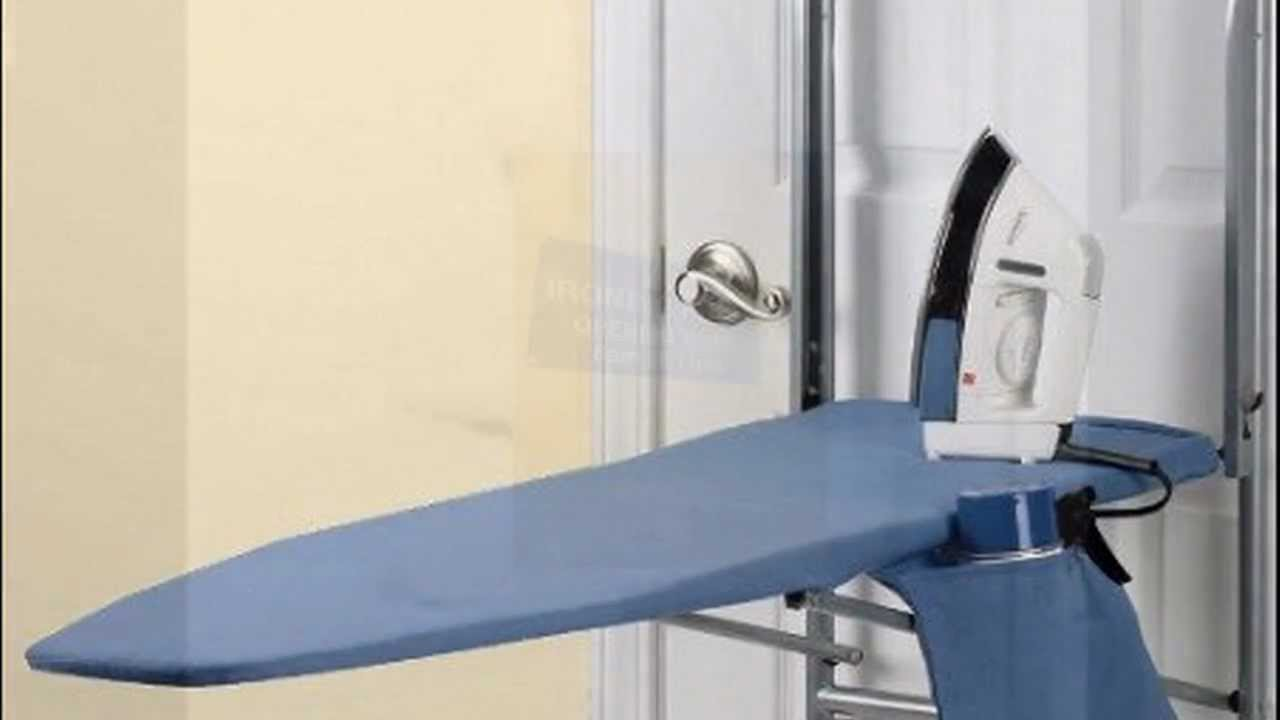 & Over The Door Ironing Board - YouTube