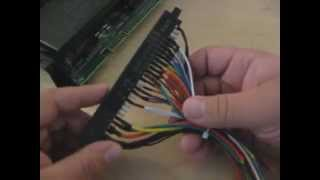 Explanation of the Arcade Cabinet Jamma Harness