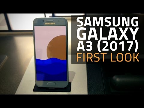Samsung Galaxy A3 (2017) First Look | Details, Specifications, and More