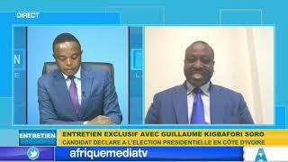 ENTRETIEN EXCLUSIF AVEC GUILLAUME SORO SUR AFRIQUE MEDIA