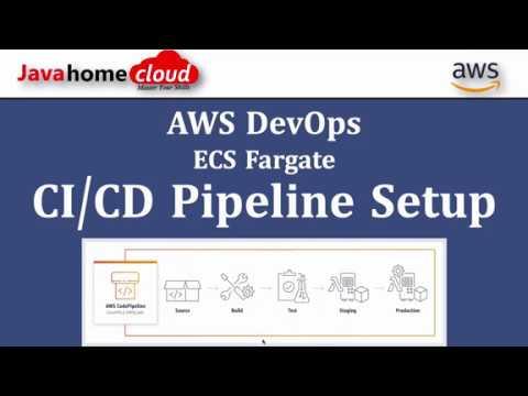 AWS DevOps CI/CD | CodeBuild CodePipeline ECS Fargate | CI CD Setup