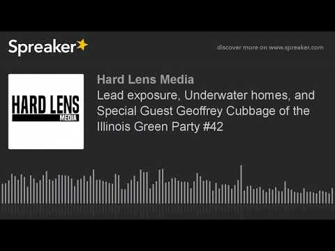 Lead exposure, Underwater homes, and Special Guest Geoffrey Cubbage of the Illinois Green Party #42