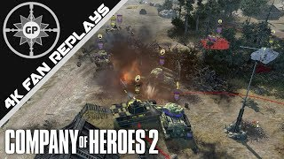 Divide the Armor, Conquer with Armor! - Company of Heroes 2 4K Replays #93
