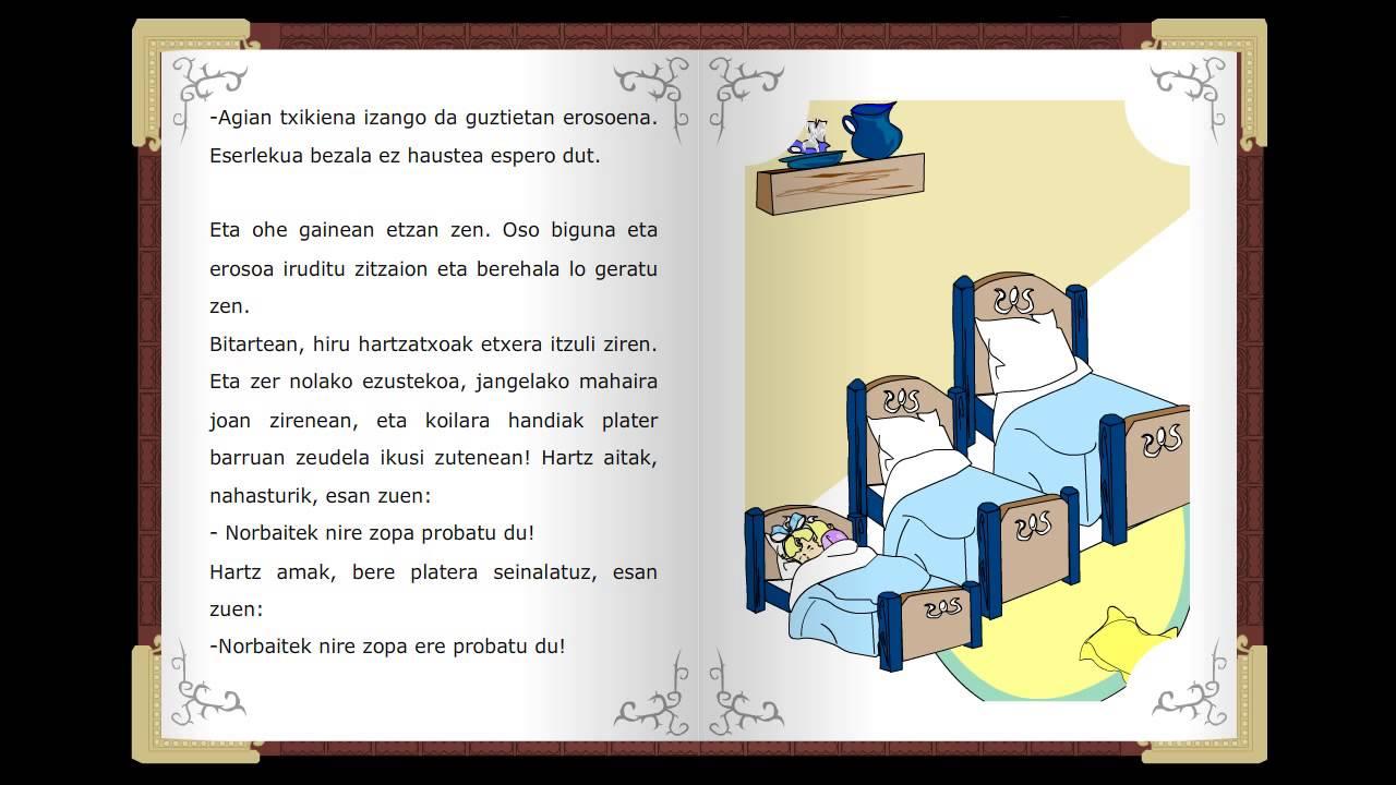 Urrezco Ari sortak, Cuentos clásicos infantiles en euskera