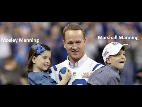 How many kids does Peyton Manning have
