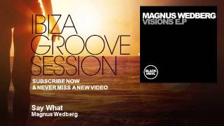 Magnus Wedberg - Say What - IbizaGrooveSession