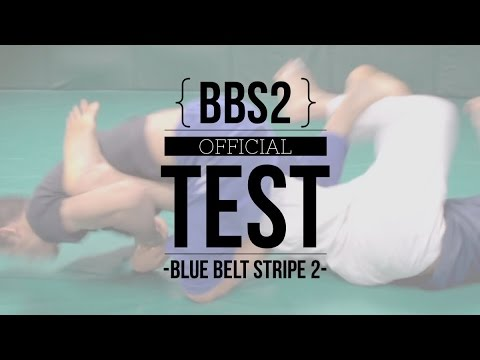 Master Cycle: Blue Belt Stripe 2 (BBS2) -- Official Test (Now on DVD)