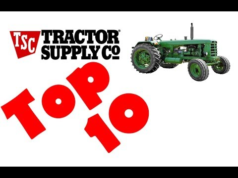 Tractor Supply Top 10 (Tools & More)