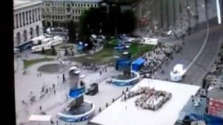 Репетиция Одессы с веб-камеры(Большие корабли парада!!!!!!!, 2011-11-11T22:46:49.000Z)