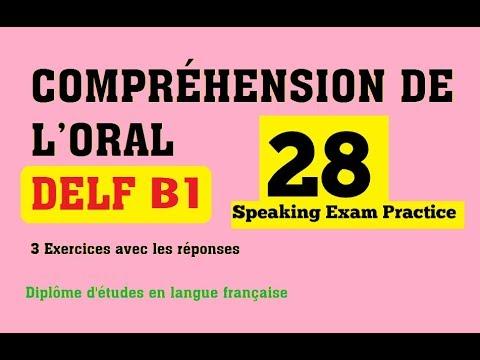 DELF B1 Comprehension Orale Listening Practice Test Online