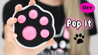 DIY Pop It Fidgets! How to make a pop It / Viral TikTok fidget toys / 팝잇 만들기