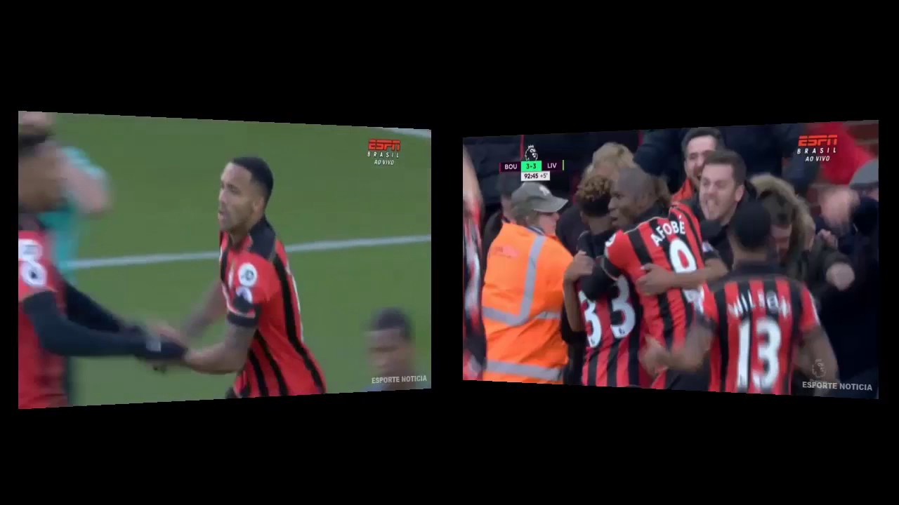Download BOURNEMOUTH 4 X 3 LIVERPOOL Goals Highlights Premier League 04 12 2016