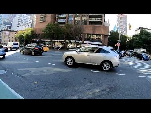 Cycling in NYC with Real Time Safety Commentary from Queens