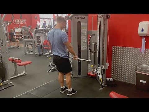Cable Hamstring RDL