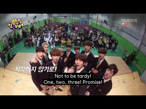 [ENG SUB] Golden Child MOMO X - Give surprise at school