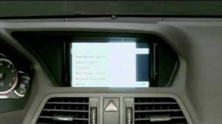 2010 mercedes benz e350 coupe console