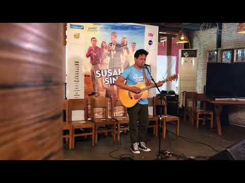 Rendy Pandugo - By My Side (Live at Press Conference Film Susah Sinyal)