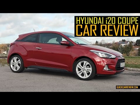 CAR REVIEW: 2016 Hyundai i20 Coupe Test Drive