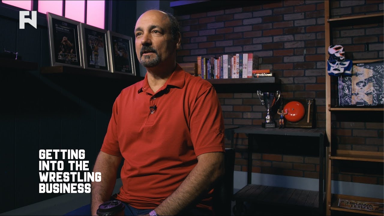 Jimmy Korderas on Making It as Wrestling Referee | Up Close - YouTube