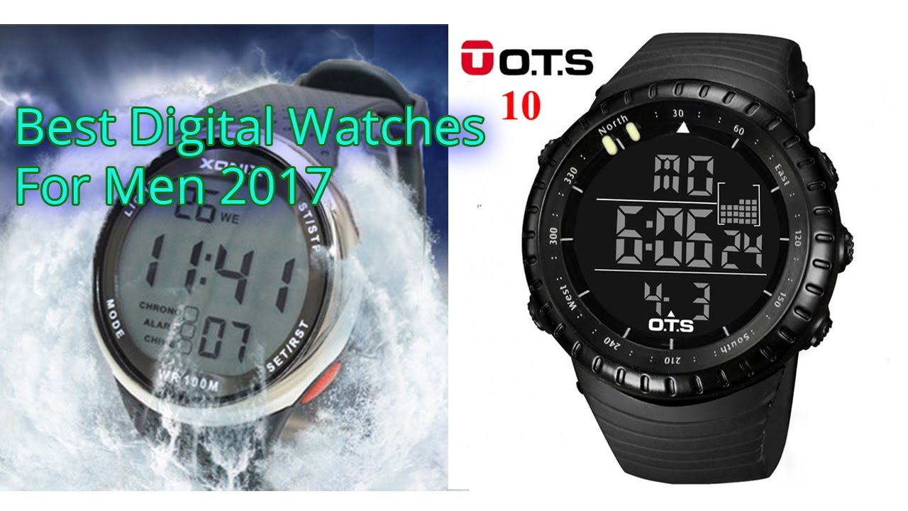 Best digital watches for men 2017 best smartwatch most stylish watches digital youtube for Watches digital