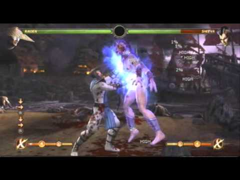 Mortal Kombat X Tekken Combo  By T-Virus