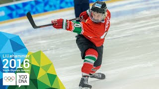 Ice Hockey Skills Challenge - Casaneanu (ROU) wins gold | Lillehaummer 2016 Youth Olympic Games