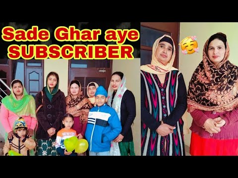 Download ll Sade Ghar Aaye Subscriber 🥰ll We Are Very Happy Today 💓ll Life of Punjab ll By navsukhman Vlog ll