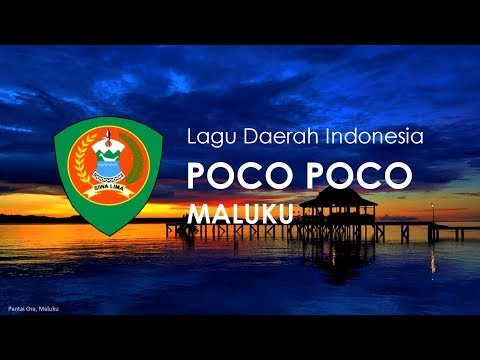 Poco Poco - Lagu Daerah Maluku (Karoke dengan Lirik)