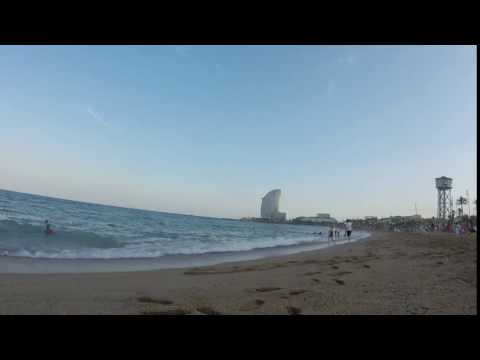 Gopro Hero+ Barcelona time lapse