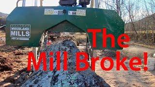 I broke the mill..... twice