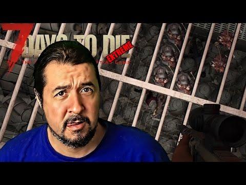 "7 DAYS TO DIE - EXTREME #40 ""OTRA HORDA QUE SE ME PASA!"" | GAMEPLAY ESPAÑOL"