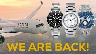 Watches Found in the Delta Sky…