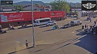 Preview of stream Live View of Lazelle St in Sturgis SD from Sturgis Liquor