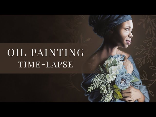 Saint Josephine Bakhita » Oil Painting Time-lapse by Tianna Williams
