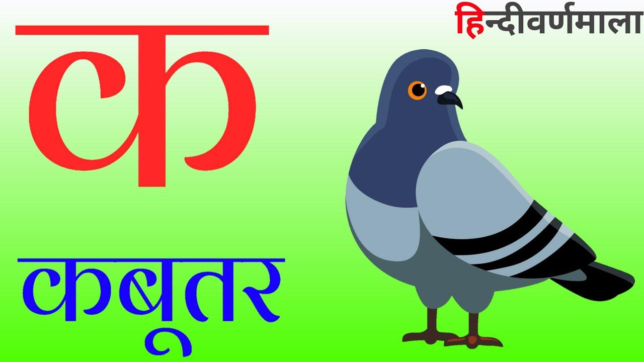 क से कबूतर ख़ से खरगोश,हिन्दीवर्णमाला, हिन्दीस्वर, k se kabutar kh se khargosh,ka se kabutar,part 8