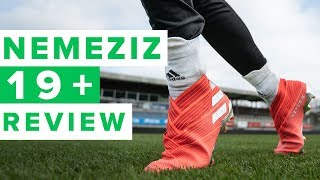ADIDAS NEMEZIZ 19+ REVIEW | Revolutionary or just weird?