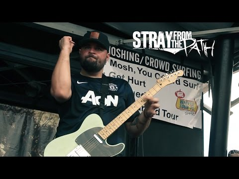 Stray From The Path - Negative and violent Live Vans Warped Tour 2014 Houston