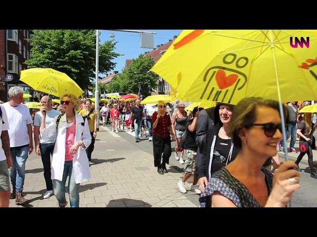 The Walk of Freedom, Amsterdam 13 juni 2021