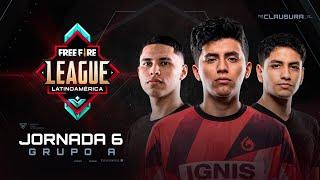 Free Fire League 2020 - Clausura | Grupo A | Jornada 6