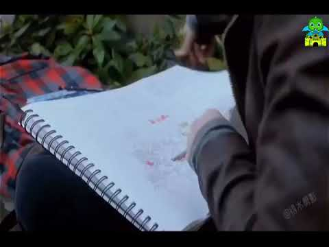 Drawing the future - this girl has special ability to draw others death || New Hollywood movie ||