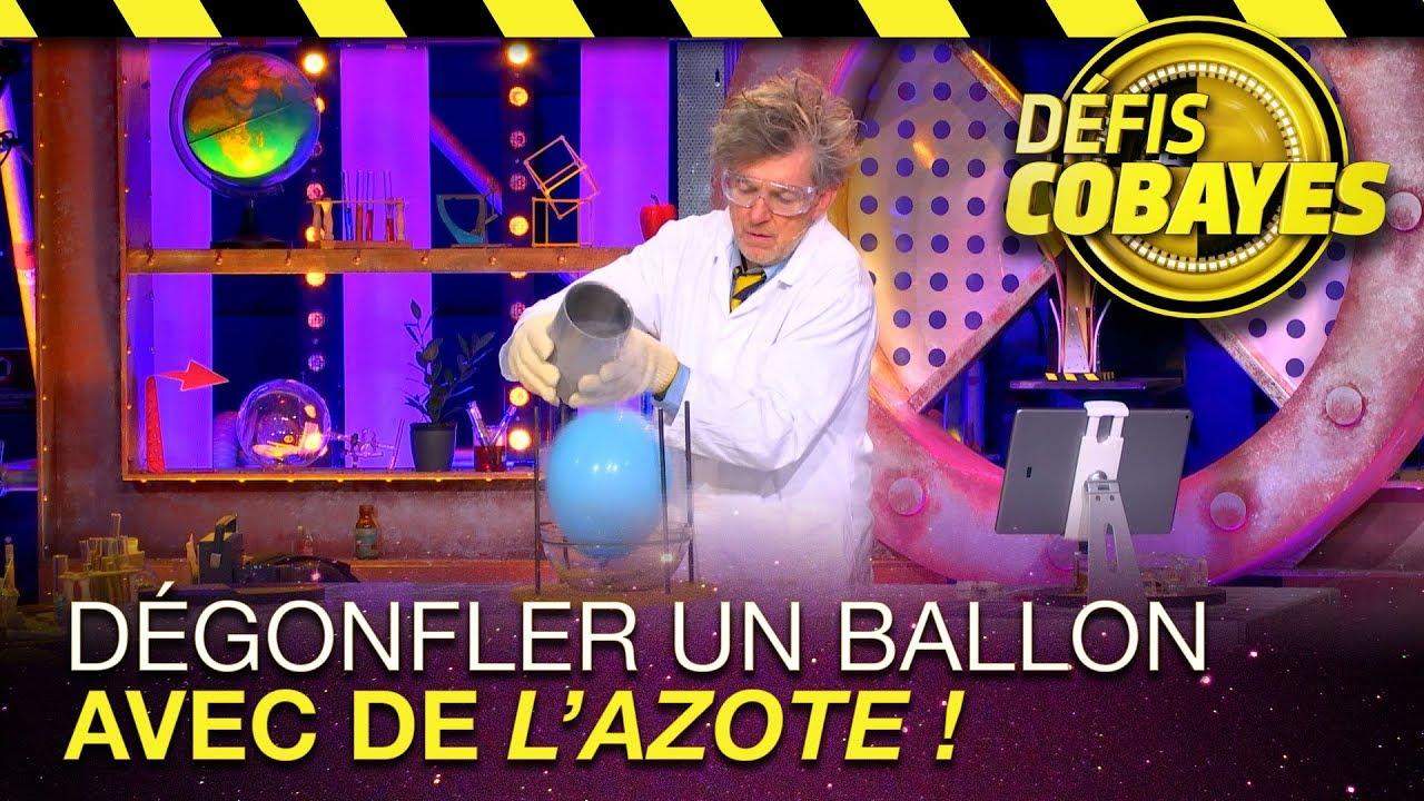 D gonfler un ballon avec de l 39 azote d fis cobayes france 4 youtube - Comment degonfler un ballon ...