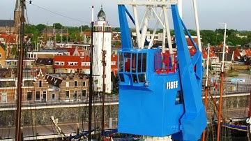 Unusual hotels of the world: Crane Hotel - Havenkraan van Harlingen, Harlingen, Netherlands