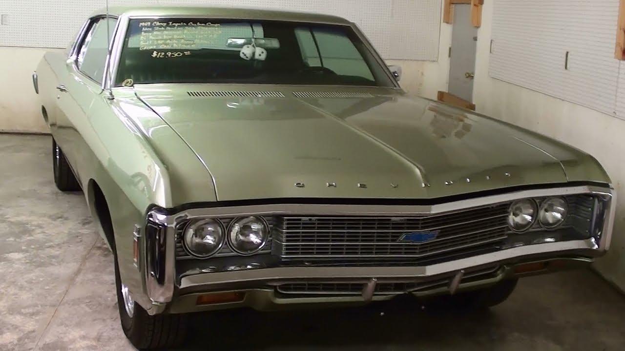 1969 chevrolet impala custom 327 v8 youtube. Black Bedroom Furniture Sets. Home Design Ideas