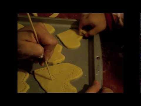 Receta de galletas para el día de san Valentin parte 1
