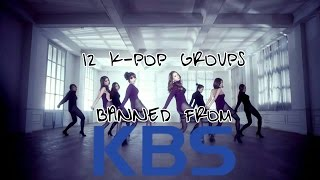 Baixar 12 Kpop Groups Banned By KBS
