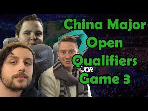 CHINA SUPERMAJOR OPEN QUALIFIERS - GORGC BULLDOG AKKE - GAME 3 (Gorgc Dota Highlights)