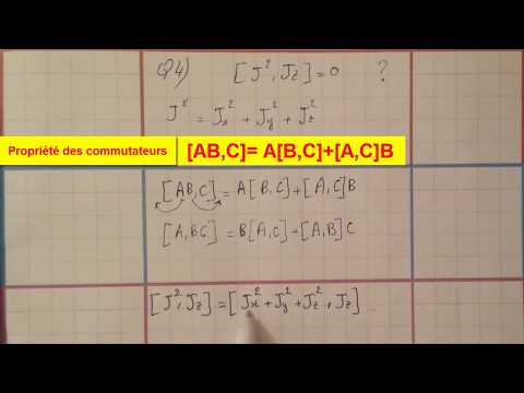 (SMP5) Mécanique Quantique : Examen Corrigé (part1)