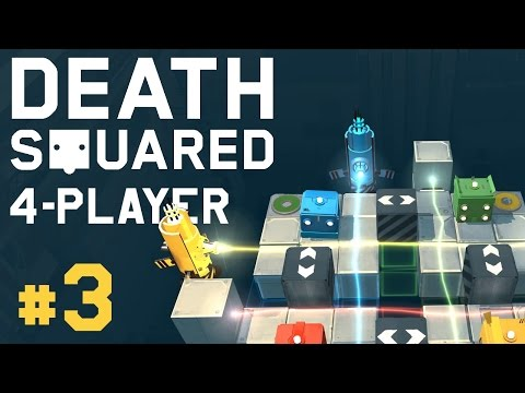 Death Squared - #3 - Death Point! (4 Player Gameplay) |