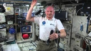Alexander Gerst talks about Rosetta