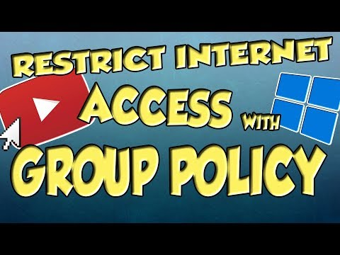 Restrict Internet Access Using Group Policy (GPO) | Step By Step Guide